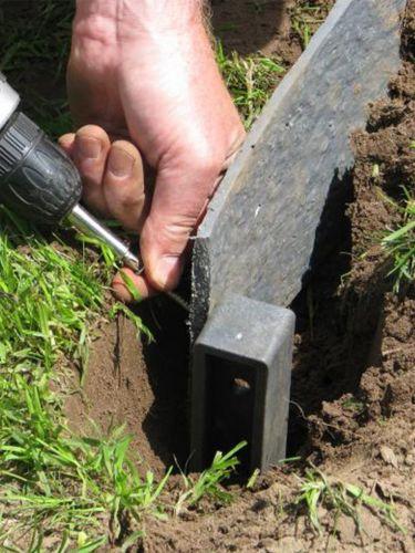 Tuinafboording Ecolat aanleg